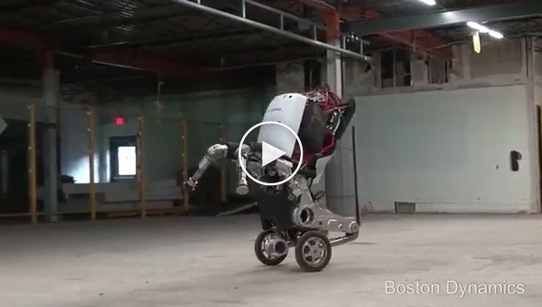Компания Boston Dynamics показала своего нового робота