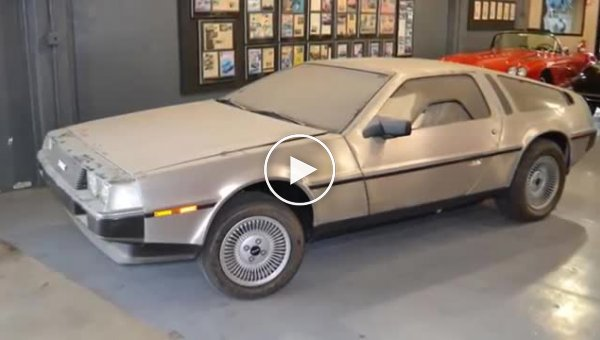 Капсула времени. DeLorean DMC-12 1981-го года